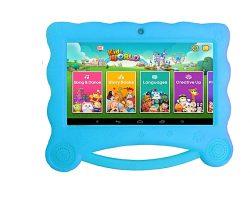 CCIT K8 Kids Tablet 16GB HDD – 1GB RAM- 7″ Blue + Cover